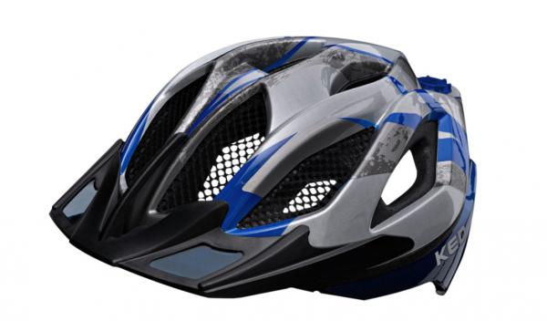 KED Spiri II K-STAR MTB Helm Blue K-Star