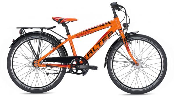 Falter FX 407 Pro 24 Zoll Diamant orange/schwarz Kinderrad %