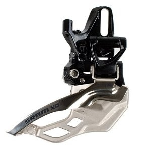 SRAM X0 2x10-speed front derailleur high directmount, 34 T Top Pull