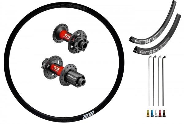 DT Swiss 240 EXP Road Disc IS Custom Wheelset Road Racing disc