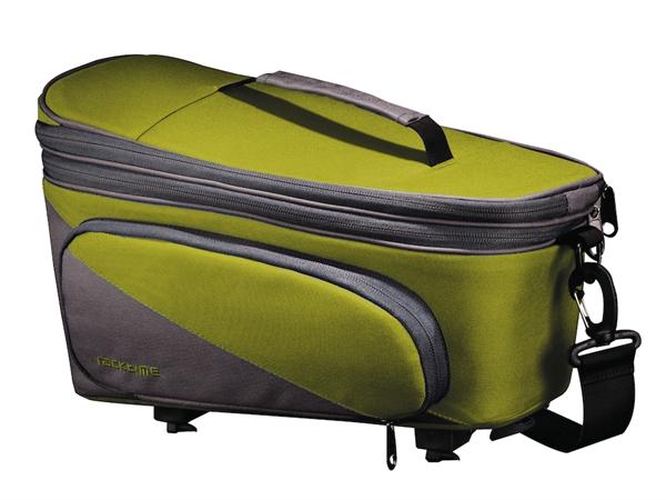 Racktime Gepäckträgertasche Talis Plus trunk lime green/stone grau