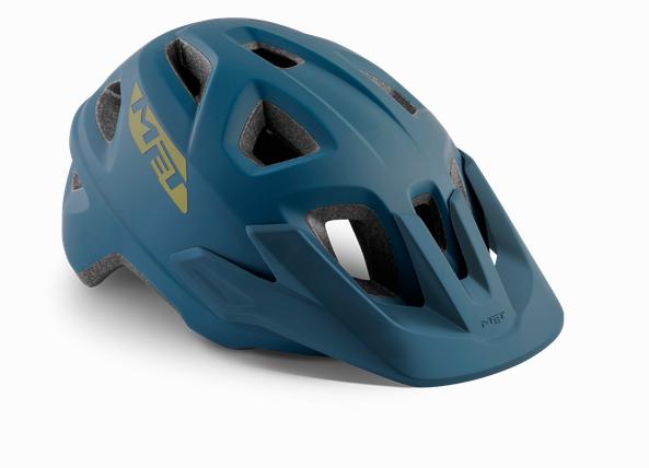 Met Echo Helmet Petrol Blue
