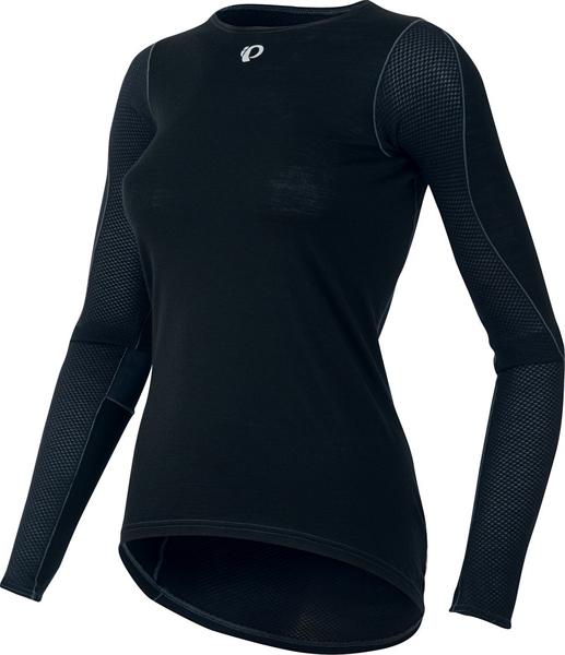 Pearl Izumi Women Transfer Wool LS Cycling Baselayer black