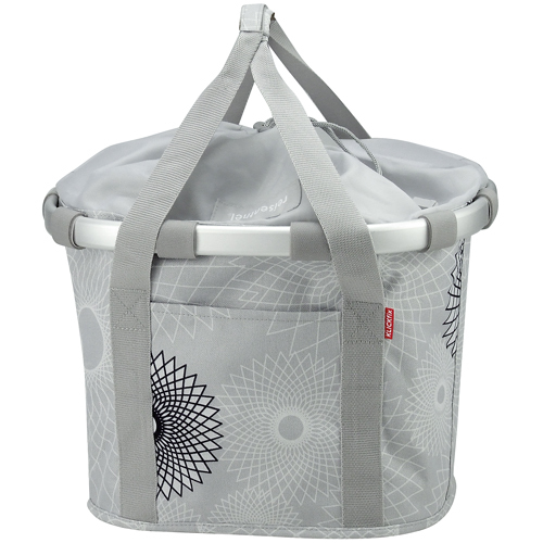 Reisenthel KLICKfix Bikebasket Bag crystals light grey