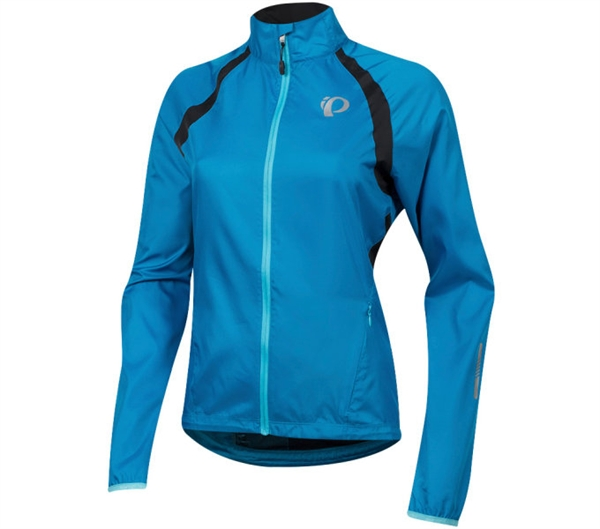 Pearl Izumi Elite Barrier Women Jacke atomic blue/black