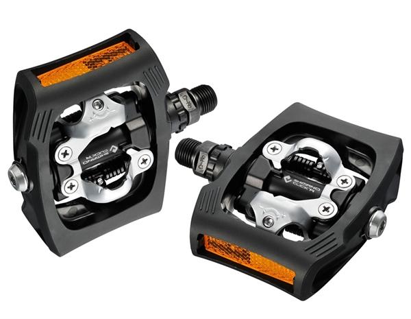 Shimano PD-T400 click'r pedal - black