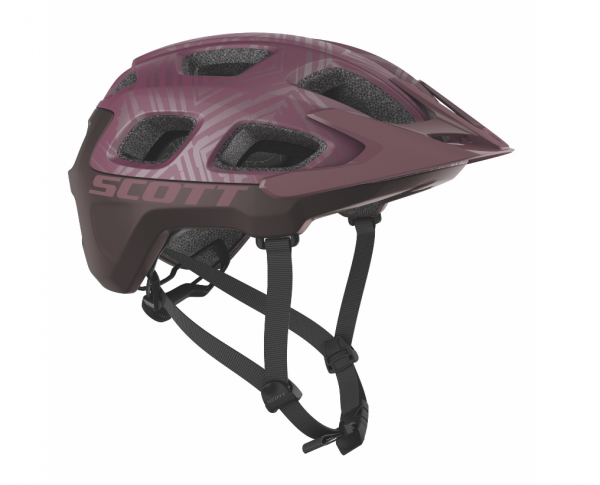 Scott Helm Vivo Plus cassis pink/maroon red