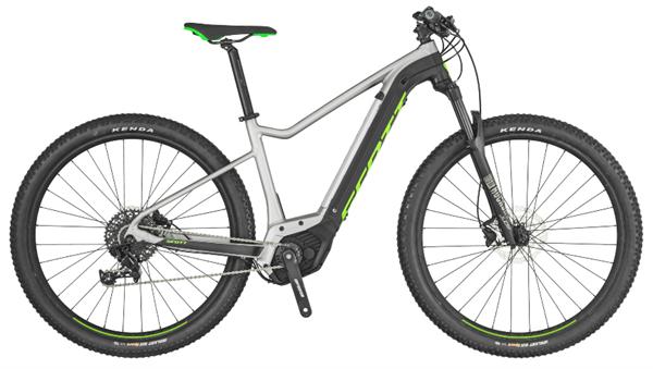 Scott Bike Aspect eRide 30 silber/schwarz/grün 2019