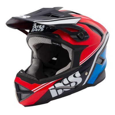 IXS Metis Addict Helmet red