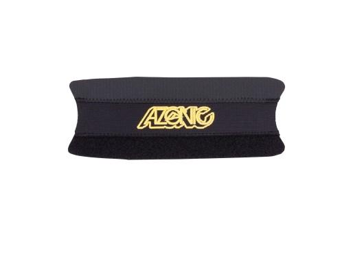 AZONIC Umma Gumma Chainstay Protection black/neon yellow
