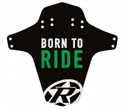 Reverse Schutzblech Born to Ride n-green
