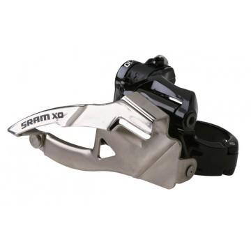 SRAM X0 2x10-fach Umwerfer low Clamp, 31,8 mm, 36/38 Z. Bottom Pull