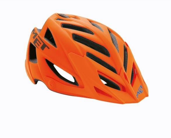 Met Terra MTB Helmet Matt Orange/Black