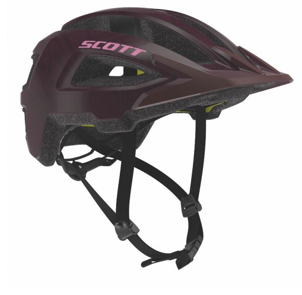 Scott Helmet Groove Plus maroon red