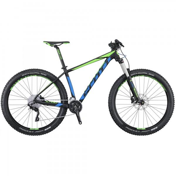 Scott Bike Scale 720 Plus schwarz / grün / blau