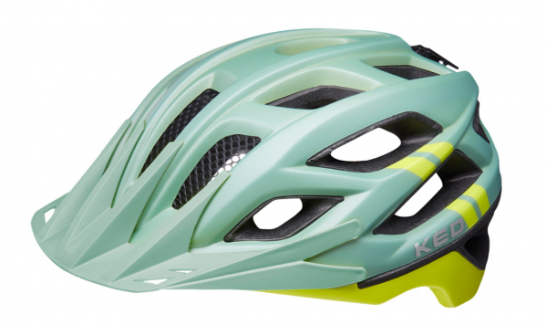KED Companion MTB Helm olive yellow matt