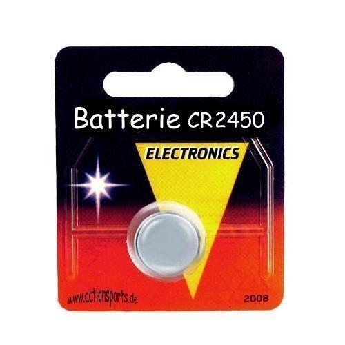 Batterie CR 2450 für z.B. Sigma ROX (20316)