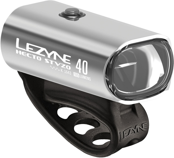 Lezyne LED Hecto Drive 40 StVZO Front Light Silver
