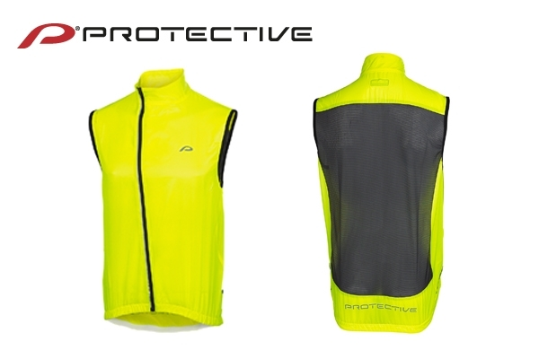 Protective Mistral wind vest yellow