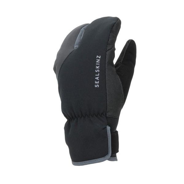 SealSkinz Handschuhe Cycle Split Finger schwarz