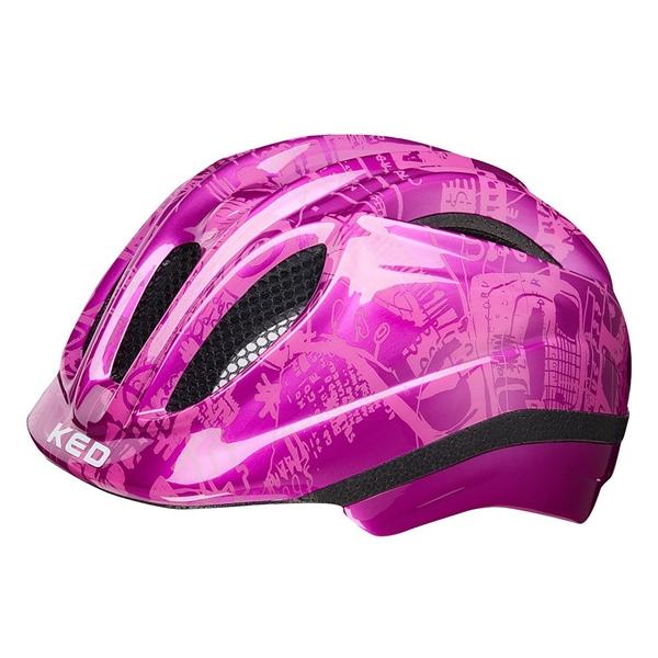 KED Meggy II Trend Kinder Helm pink