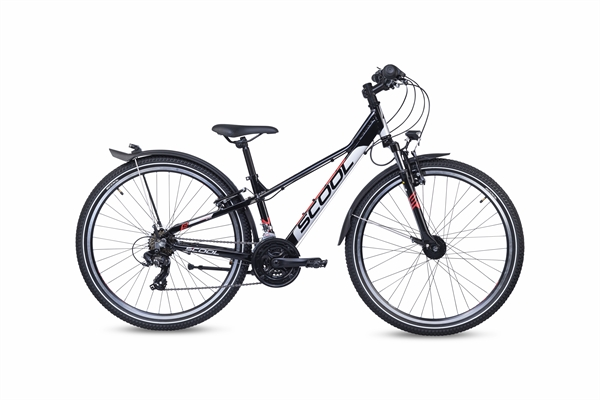 S´COOL troX 26 EVO alloy 21-speed black/grey/red #varinfo
