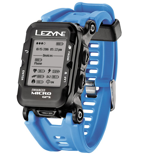 Lezyne Micro GPS Watch incl. HR cyan