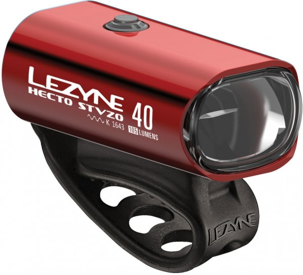 Lezyne LED Hecto Drive 40 StVZO Front Light Red