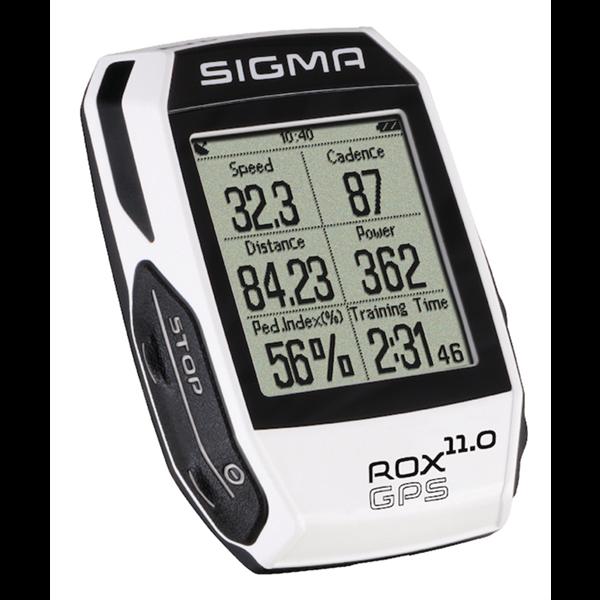 Sigma high-end bike computer ROX 11.0 GPS white
