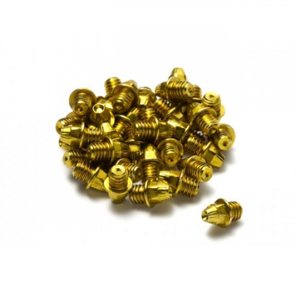 Reverse Pedal Pins for Flat pedals gold