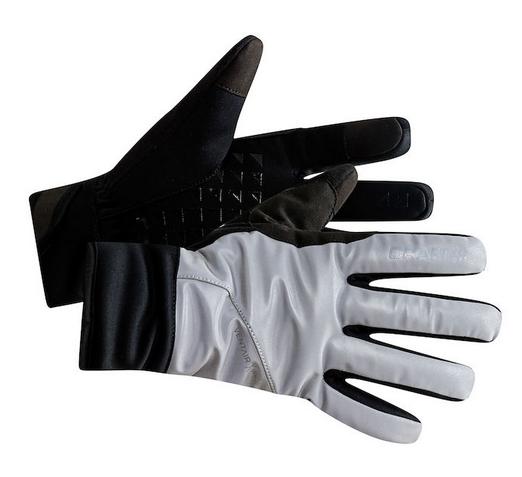 Craft Siberian Glow Handschuh silber/schwarz