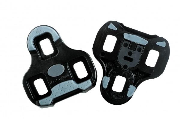 Look Pedalplatten Keo Grip Schwarz 0°