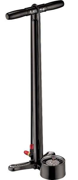 Lezyne floor standing air pump Alloy Floor Drive black glossy