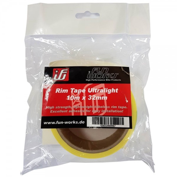 Fun Works Tubeless Felgenband Ultralight 10mX32mm