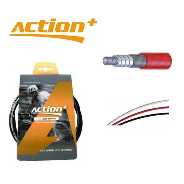 Ashima Action+ Derailleur Cable Kit