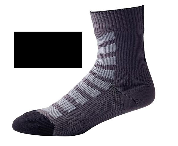Sealskinz Socken MTB Ankle mit Hydrostop - schwarz/grau