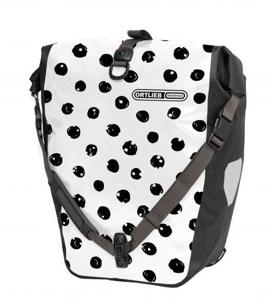Ortlieb Back-Roller Design DOTS QL2.1 white-black