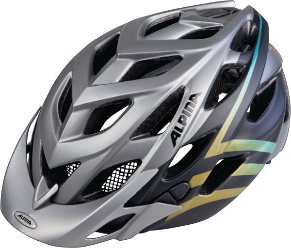 Alpina D-Alto L.E. Helm darksilver-black-gradient