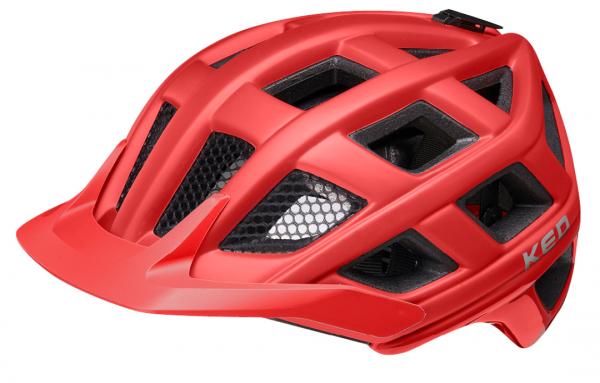 KED Crom MTB Helm merlot matt