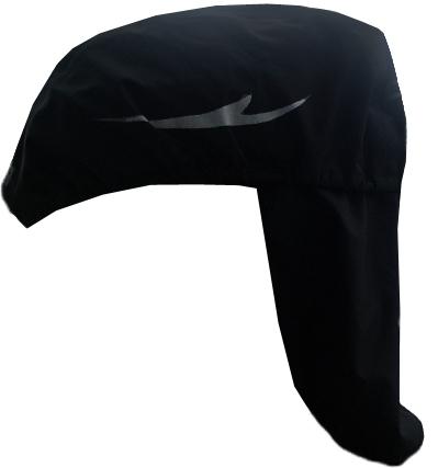 Chiba Helmet Raincover Pro black