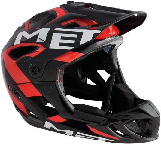 Met Parachute MTB-Helmet Black/Red