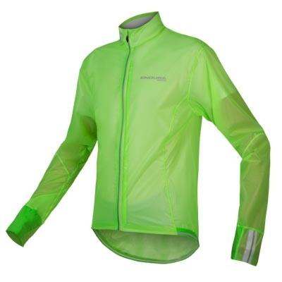 Endura FS260 Pro Adrenaline Race Cape II Jacke Hi-Viz green
