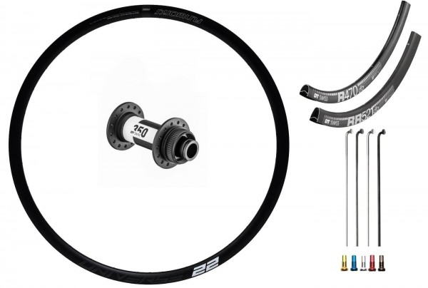DT Swiss 350 Road Disc CL Custom Vorderrad Rennrad disc
