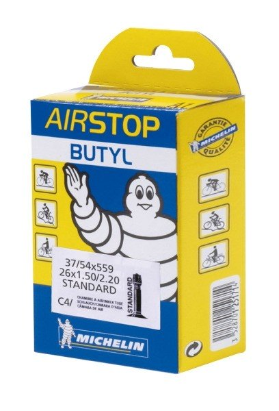 "Michelin bicycle tube Airstop C4 26"" SV"