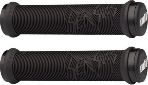 ODI MTB Griffe Sensus Disisdaboss Lock-On 2.1 silberne Klemmringe