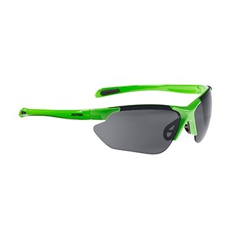 Alpina glasses Jalix green-black