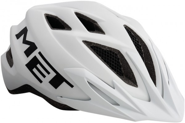 Met Crackerjack Jugendhelm white - Unisize