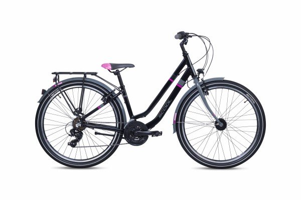 S´COOL chiX twin 26 alloy 21-speed black/pink
