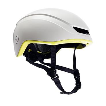 Brooks Island Helmet - White/Lime