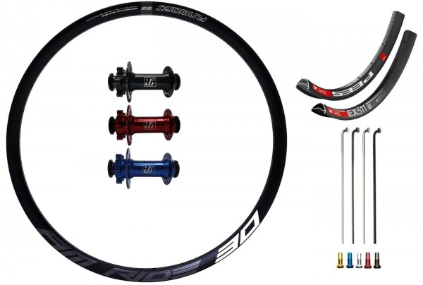 """Fun Works N-Light Predictive Steering IS Custom Front Wheel MTB 29"""""""